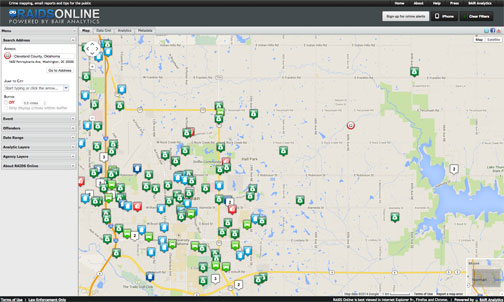 Crime Report Mapping