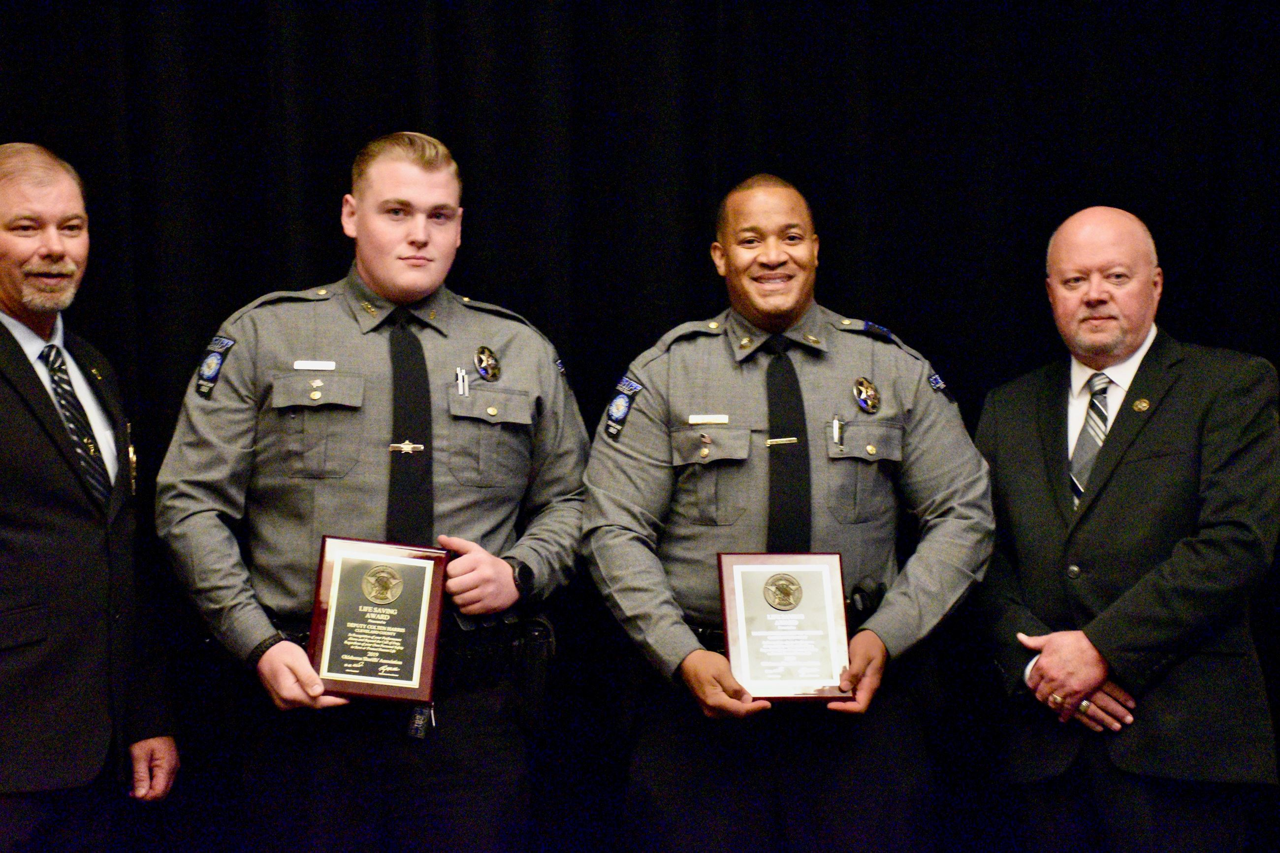 C. Harris and L. Williams honored as lifesavers