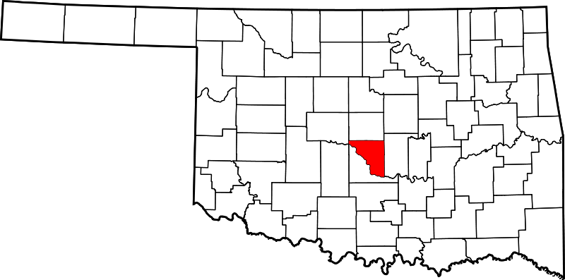 Map_of_Oklahoma_highlighting_Cleveland_County