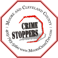 Crime Stoppers Logo Decal Clear